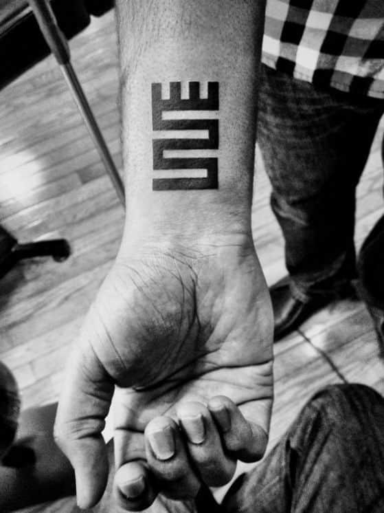 tatuaje abstracto