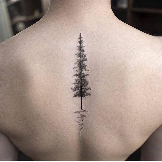 espalda pino sencillo