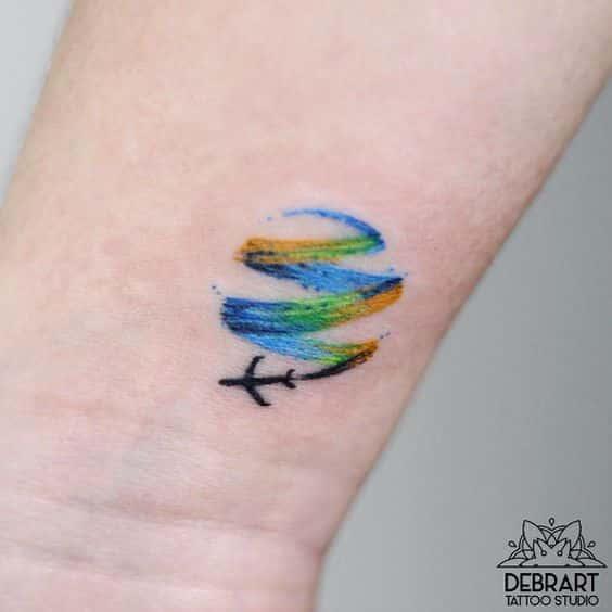 muñeca pequeño tatuaje