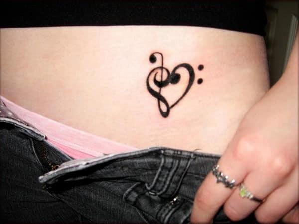 tatuajes pequenos vientre