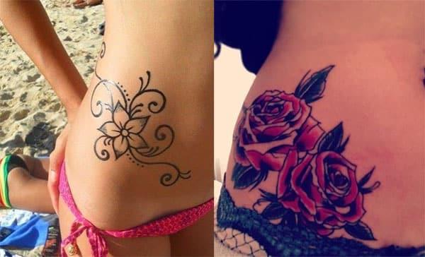 rosas tatuajes para chicas2