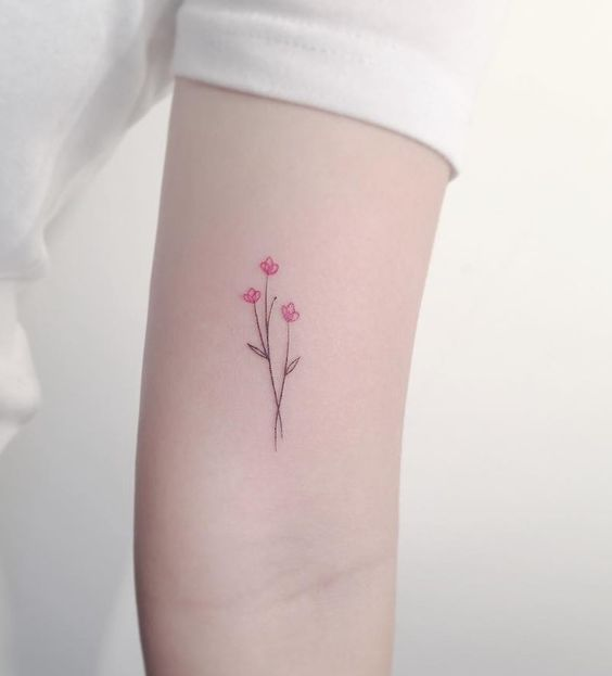 sencillo tatuaje