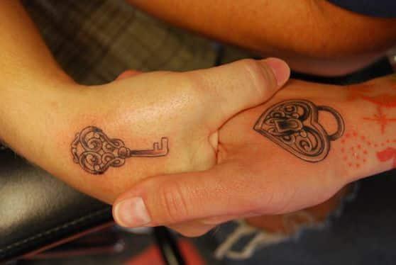 tattoo couple design