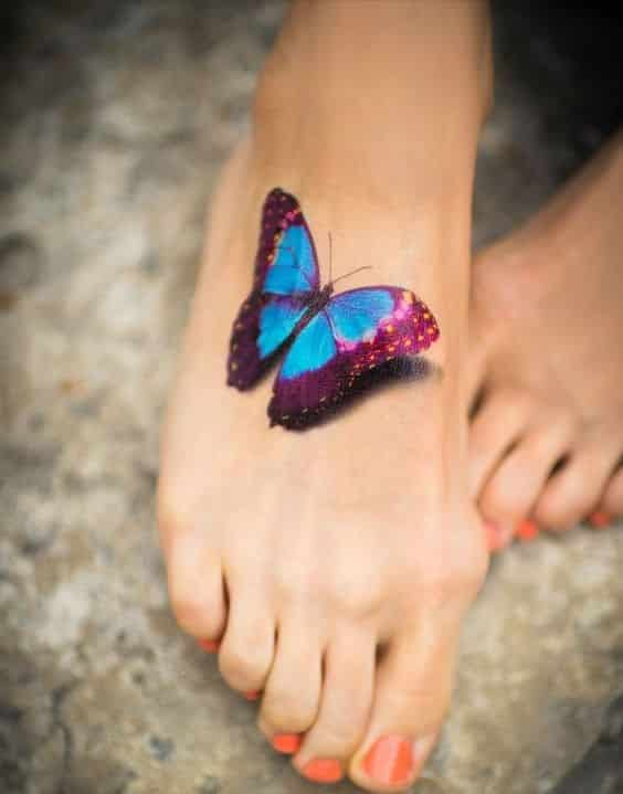 tatuaje 3d chicas