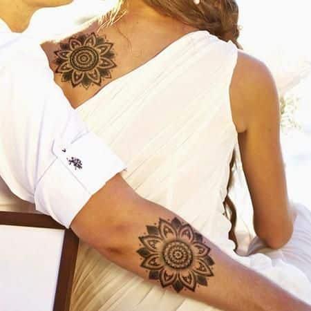 tatuaje hombre y mujer
