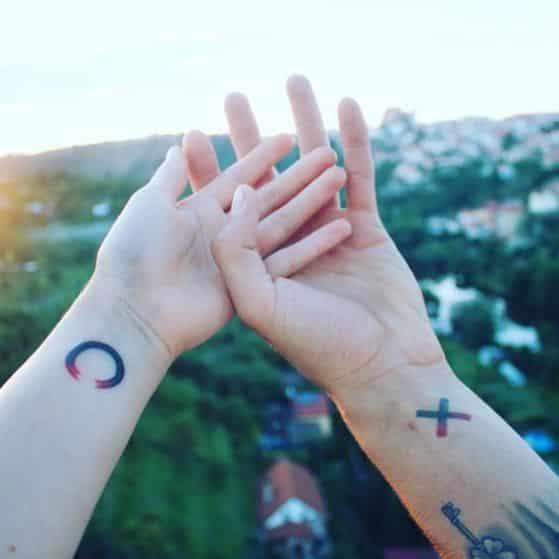 tatuaje para dos