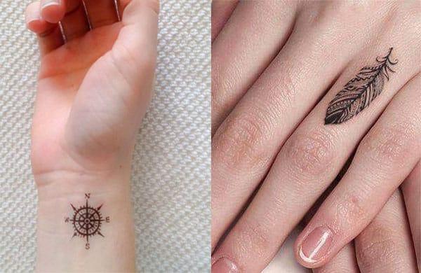tatuajes en los dedos mujer2