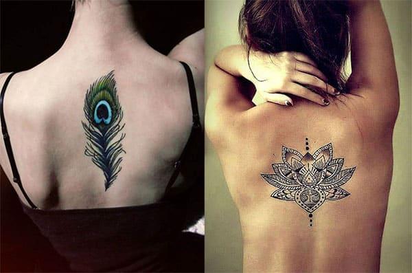 tatuaje en la espalda para chicas