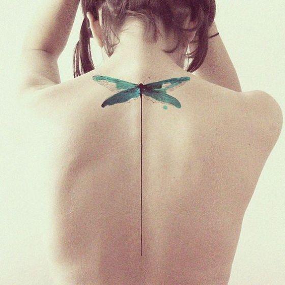 bonito tatuaje para chicas