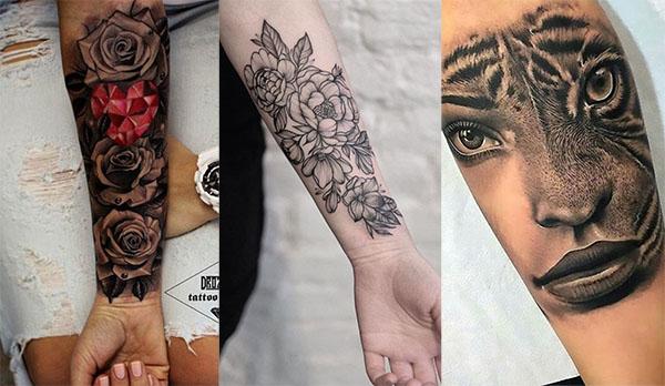mujer antebrazo tatuaje2