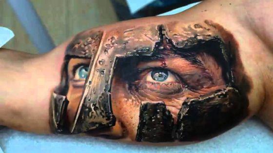 romano tatuaje en 3D