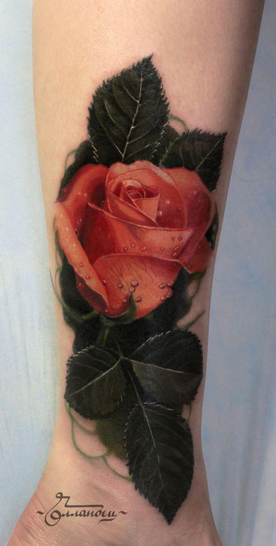 rosa tattoo 3d
