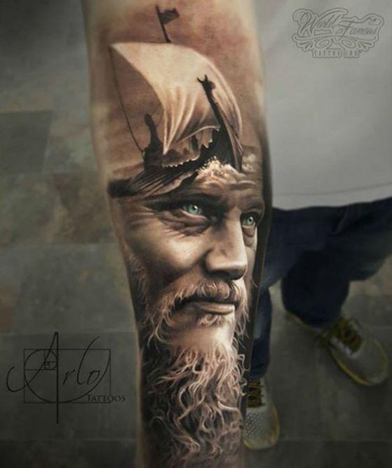 rostros en 3d para tatuaerse