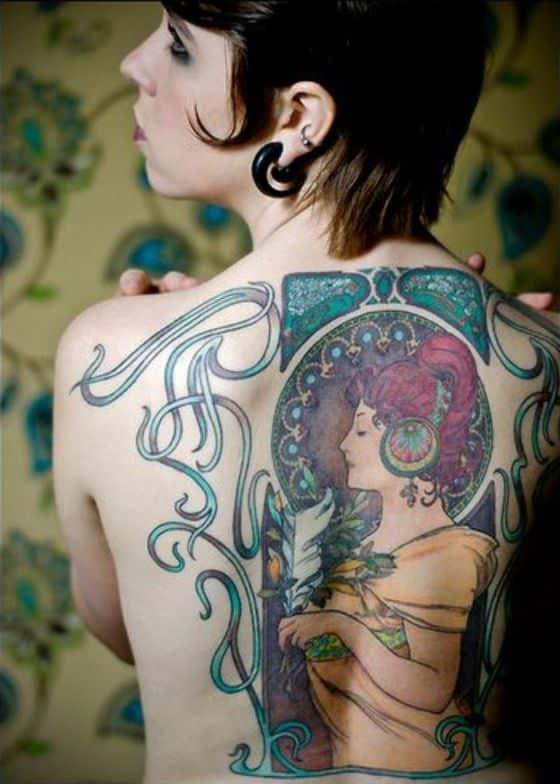 tatuaje espalda completa