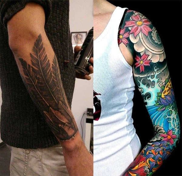 tatuaje hombres en el brazo2