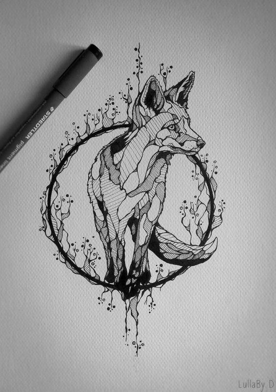 D Line Drawings Ideas : Diseños de tatuajes originales ideas para