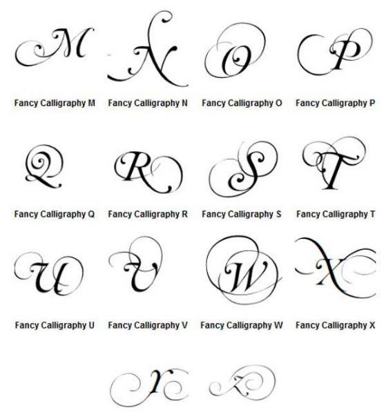 Letras Para Tatuajes Diferentes Diseños Y Estilos De: Las Mejores Letras Para Tatuajes Y Geniales Diseños