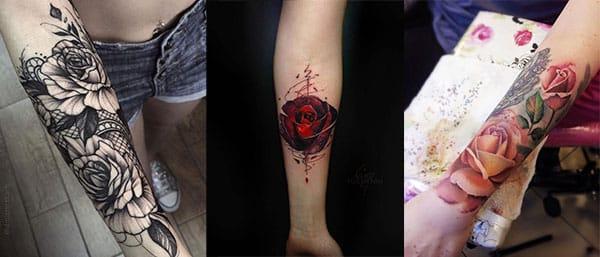 Tatuajes De Rosas Disenos Para Hombres Y Mujeres Con Sus Significados