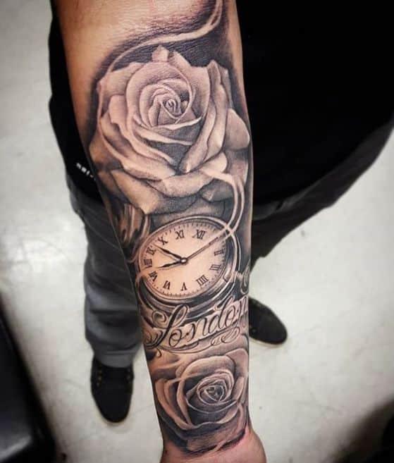 hombre rosa tattoo
