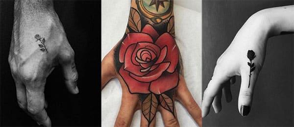 rosa dedo tatoo2