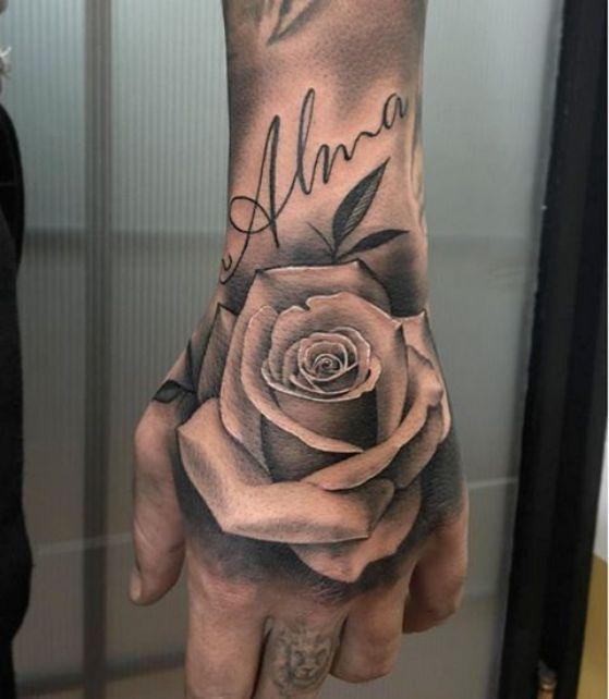 Tatuajes De Rosas Diseños Para Hombres Y Mujeres Con Sus