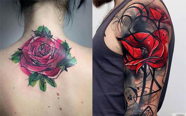 Tatuajes de Rosas Diseños Con sus Diferentes Significados
