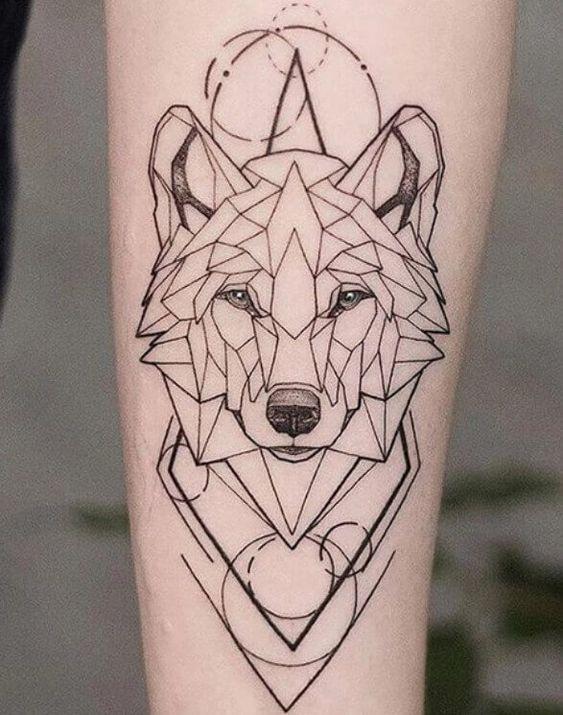 Tatuajes De Luna Y Lobo (17)
