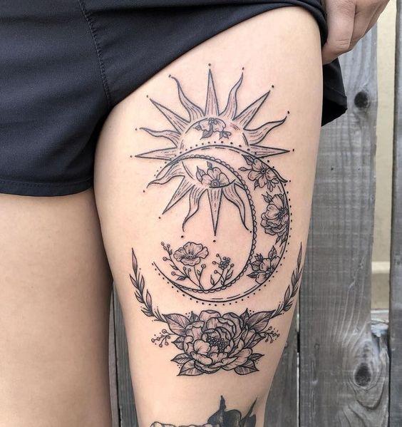 Tatuajes De Luna Y Sol (13)
