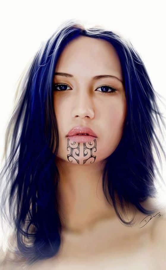 chicas maori