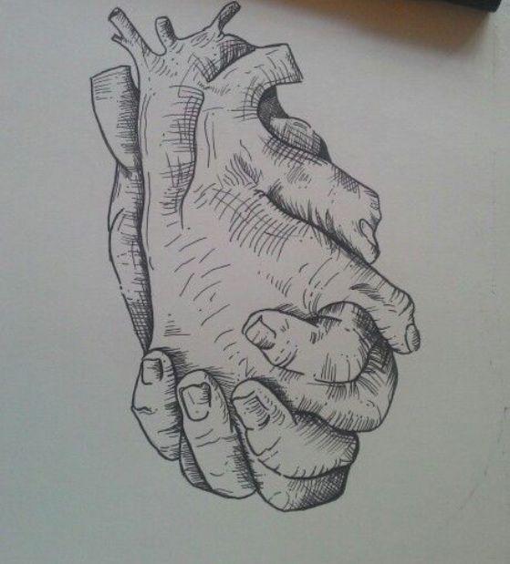 idea para un tatuaje de corazon