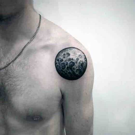 luna llena hombres