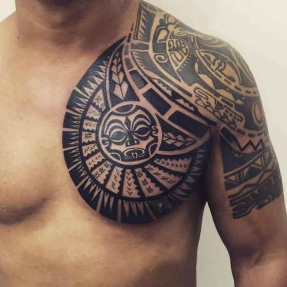 pecho tattoo