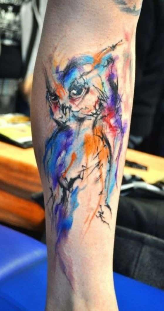 tattoos con diseño de buho (11)