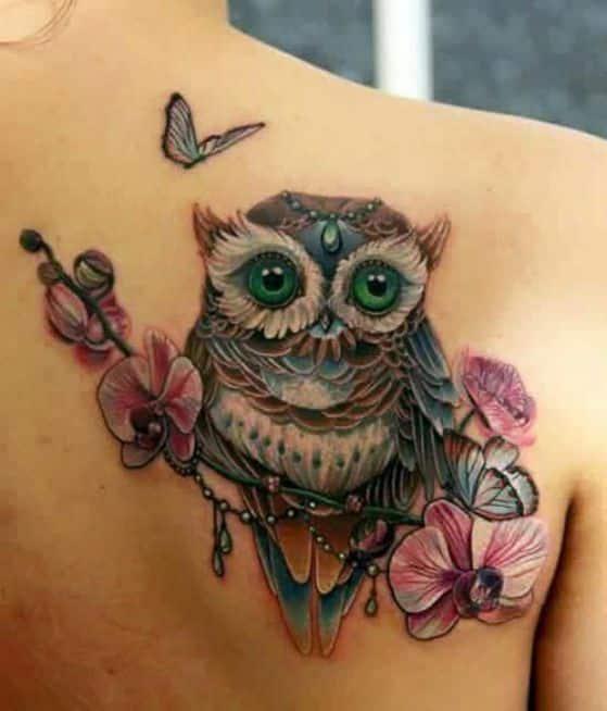 tattoos con diseño de buho (6)