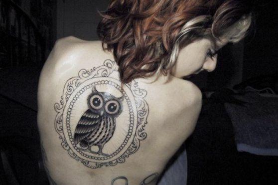 tattoos con diseño de buho (9)