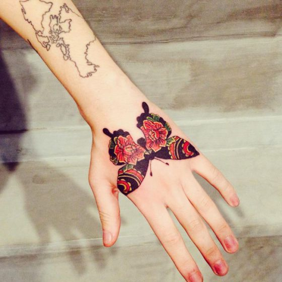 Tatuajes De Mariposas Diferentes Ideas Y Disenos A Color Y Negro