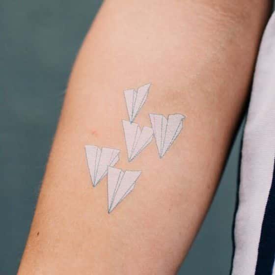 Tatuajes Blancos Ideas Y Disenos Para Tatuajes De Tinta Blanca