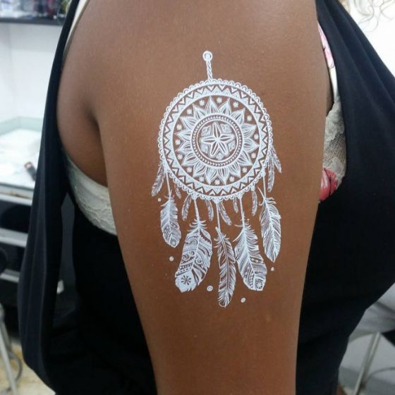 tatuajes blancos