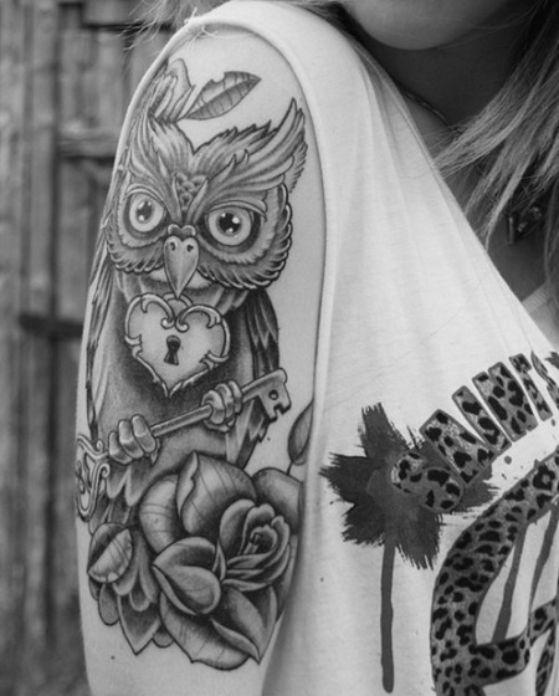 tatuajes de buho (8)