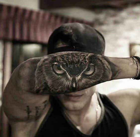 Tatuajes De Búhos Para Hombres Y Mujeres Con Sus Significados