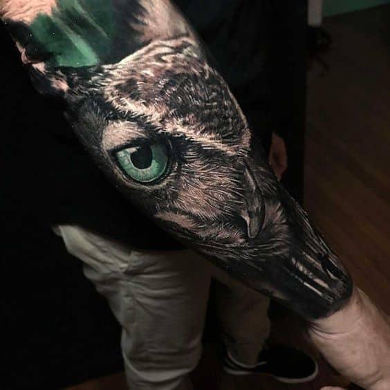 Tatuajes De Buhos Para Hombres Y Mujeres Con Sus Significados