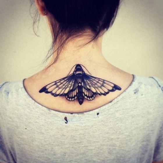 tatuajes-de-mariposas-blanco-y-negro-2