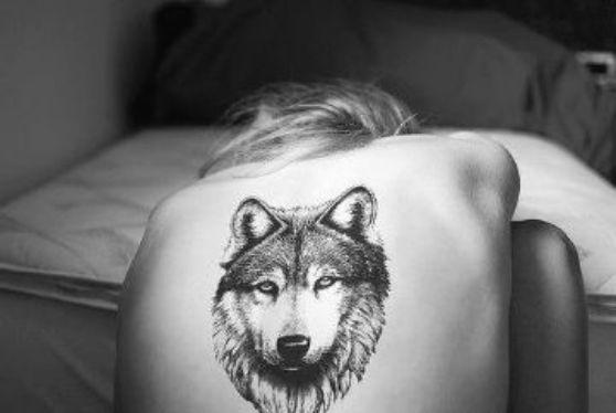 Tatuajes de lobos ~~ diseños para chicas y chicos y sus significados