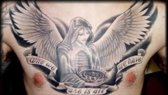 Tatuajes De ángeles Desde Tiernos Hasta Sexy Y Atrevidos