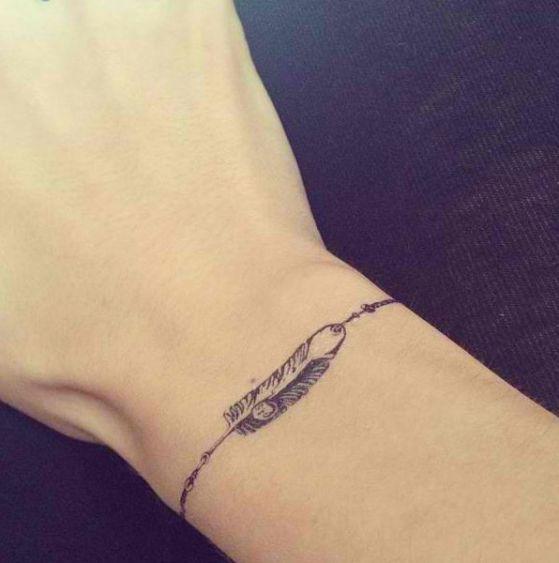 Tatuajes De Brazaletes Diferentes Ideas Y Disenos Para Escoger - Tatuajes-de-pulsera-para-hombres