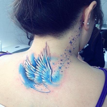 Tatuajes Angeles De La Guarda