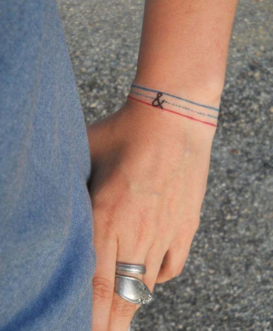 Tatuajes De Brazaletes Diferentes Ideas Y Disenos Para Escoger - Tatuajes-de-brazaletes-para-el-brazo