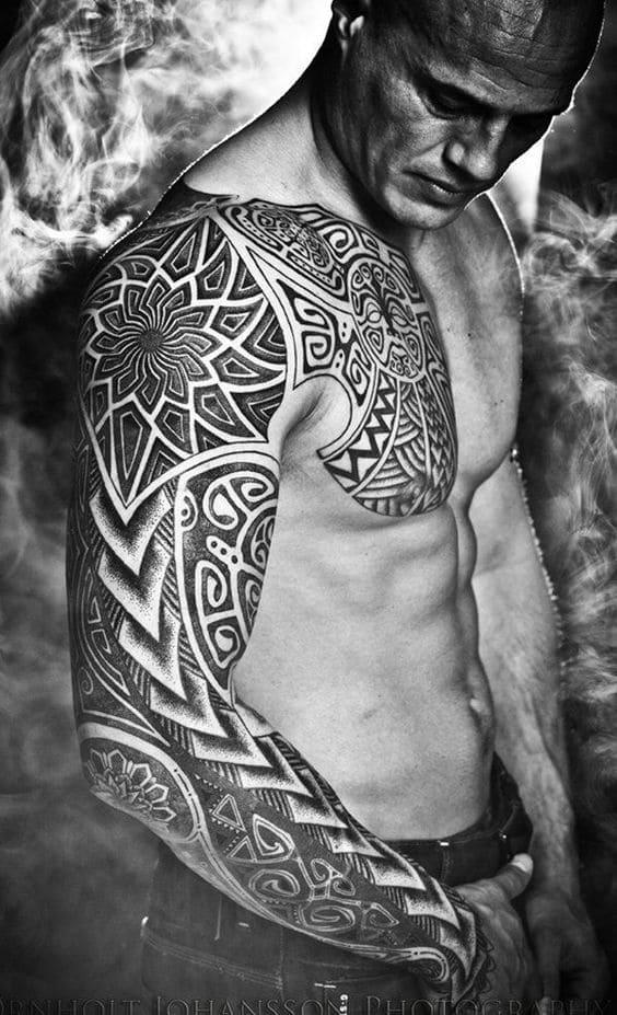 Estrella Tribal Tatuaje
