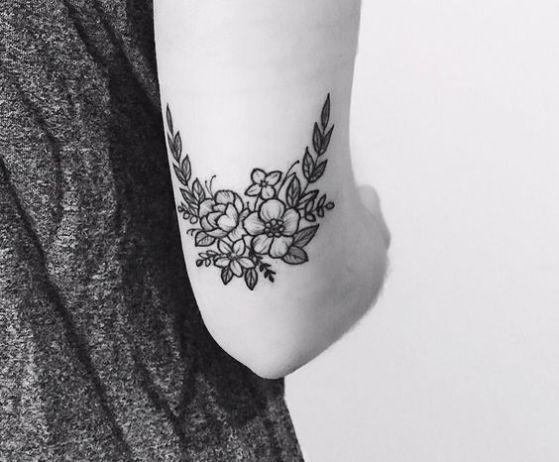 blanco y negro diseño tatuaje