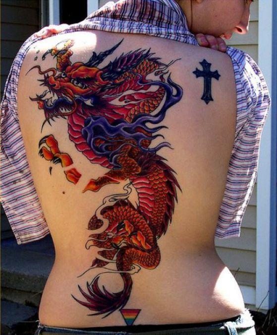 chinese dragon - + 40 diseños de tatuajes de dragones con sus diferentes significados